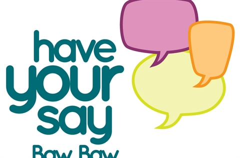 Have Your Say Baw Baw Logo